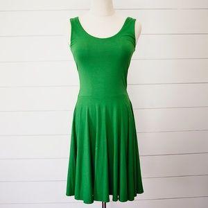 Designer Cynthia Rowley Green Swing Dress XS